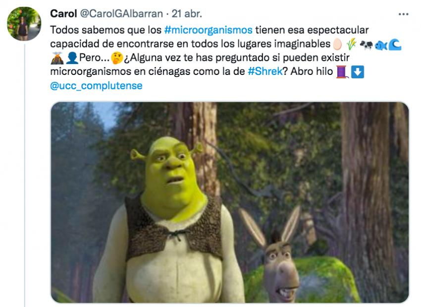 """""""Los microorganismos que habitan en la ciénaga de Shrek"""""""