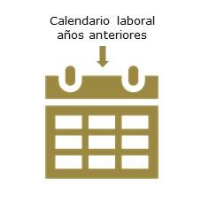 calendario laboral años anteriores