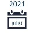 Google Analytics. Visitas julio 2021