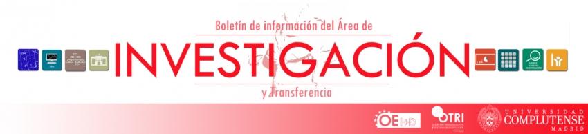 Boletín de información del área de investigación y transferencia