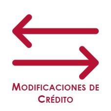 Modificaciones de crédito