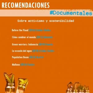 Documentales Activismo y Sostenibilidad