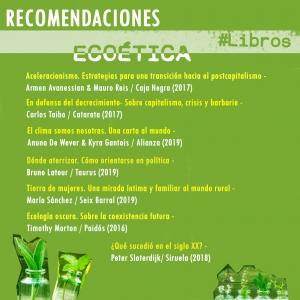 Libros - Ecoética