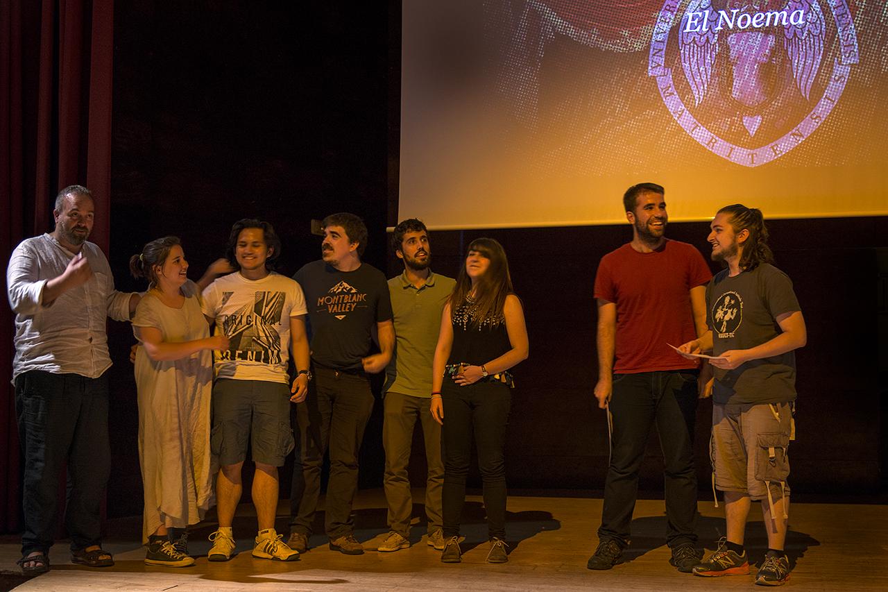 El tercer premio al mejor montaje fue para El último ninot, de El Noema